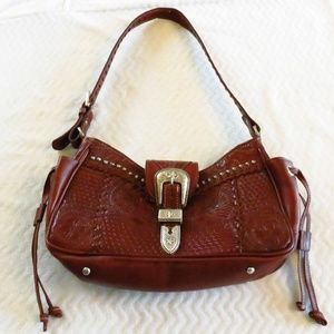 American West Multi-Compartment Leather Bag